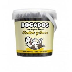 BOCADOS CORDERO Y ARROZ